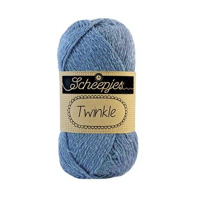 Scheepjes Twinkle 909 jeans blauw