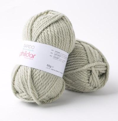 Phildar Rapido Vert de gris 1117 - 30