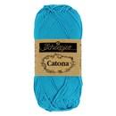 Scheepjes Catona 146 Vivid Blue (50 gram) - aqua
