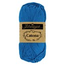 Scheepjes Catona 201 Electric Blue (50 gram)