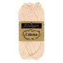 Scheepjes Catona 255 Nude (50 gram) - licht huidskleur