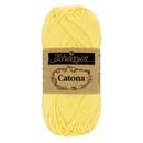 Scheepjes Catona 522 primrose (50 gram) - zacht citroen geel