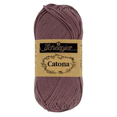 Scheepjes Catona 526 50 gram - oud donker roze