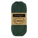 Scheepjes Catona 525 (50 gram) - donker groen
