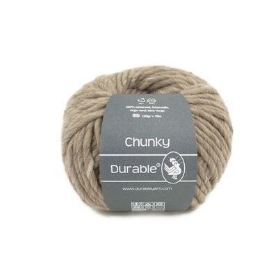 Durable Chunky Wool 0340 taupe