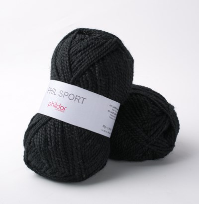 Phildar Phil Sport Noir