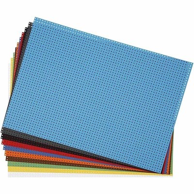 Kruissteek karton assortiment 23 a 33 cm 10 stuks