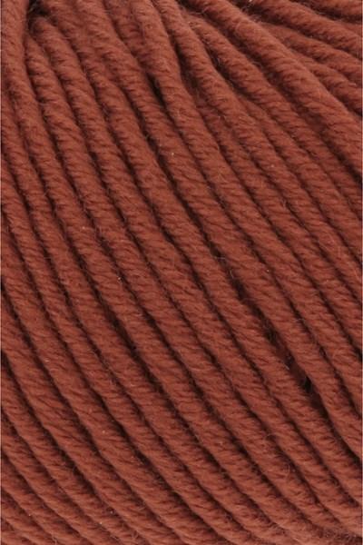 Lang Yarns Merino plus 152.0187 donker oranje bruin