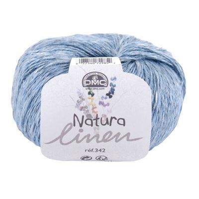 DMC Natura Linen 007 licht blauw