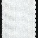 Aida band 5,5 wit hoogte 10 cm (per 10 cm)