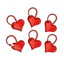 Addi Stekenmarkeerringen 407-7 hart (10 stuks)
