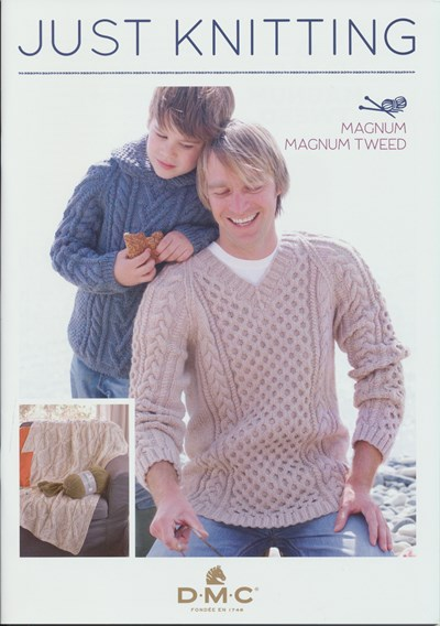 DMC Just Knitting Magnum en Magnum Tweed