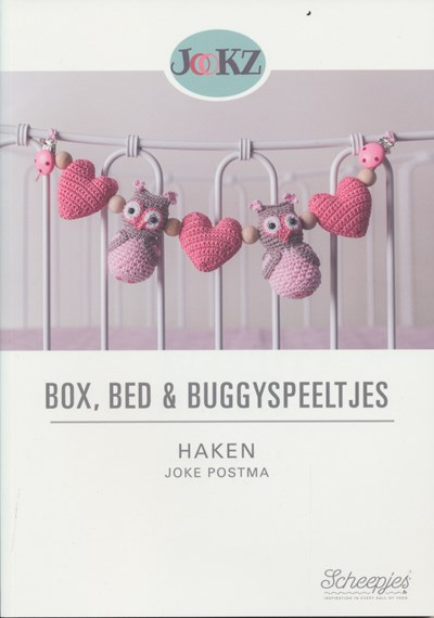 Box, bed Buggyspeeltjes haken