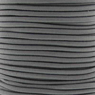Elastiek koord 3 mm - grijs 1 meter