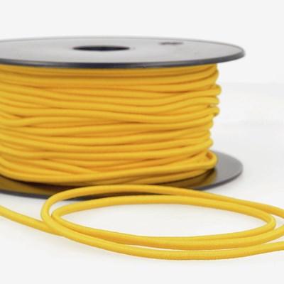 Elastiek koord 3 mm - geel 1 meter
