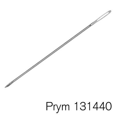 Prym Naald 15 cm met breed oog zonder punt - weefnaald 131440