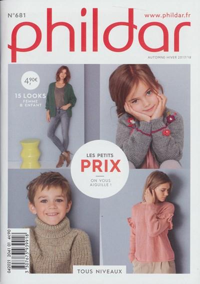 Phildar nr 681 15 modellen voor kinderen en dames