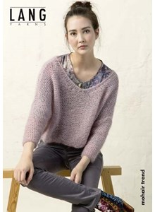 Lang Yarns Leaflet trui - mohair trend