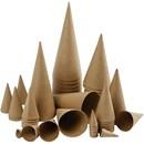 Paper shape kegel 4, 8, 10, 13 en 20 cm (totaal 10 stuks)