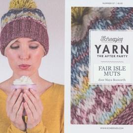 Leaflet nr 7 Fair Isle muts
