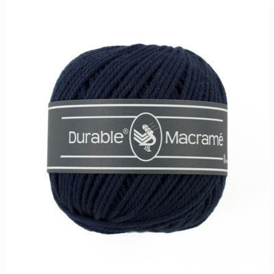 Durable macrame 0321 navy