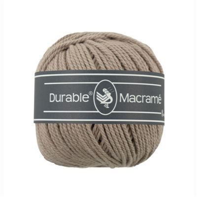 Durable macrame 0340 taupe