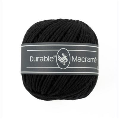 Durable macrame 0325 black