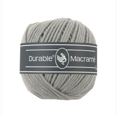 Durable macrame 2232 light grey