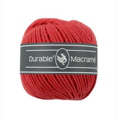 Durable macrame 0316 red