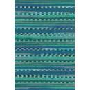 Lang Yarns Merino 200 bebe color 155.0373 - groen blauw streep
