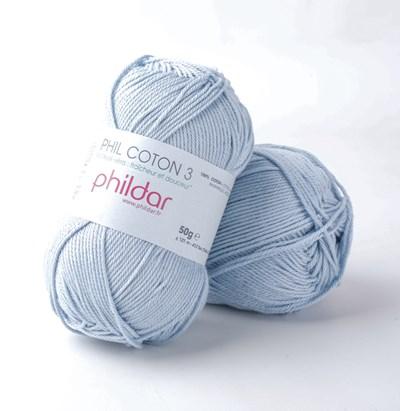 Phildar Phil coton 3 Ecume 0019