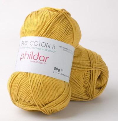 Phildar Phil coton 3 Colza 0005 op=op