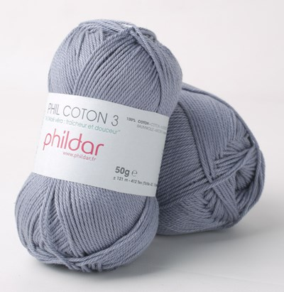 Phildar Phil coton 3 Jeans 2089
