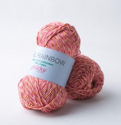 Phildar Phil Rainbow Pivoine 1428