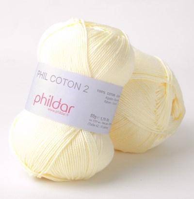 Phildar Phil coton 2 Poussin 0005