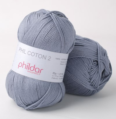Phildar Phil coton 2 Jeans 2089