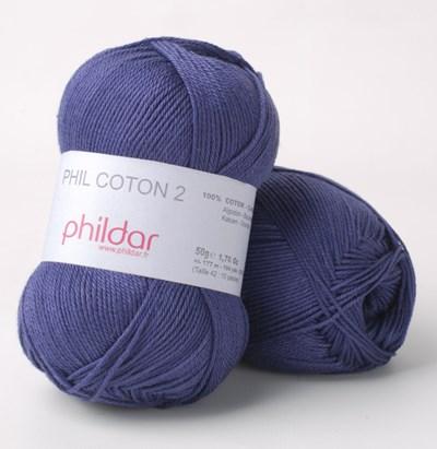 Phildar Phil coton 2 Encre 0102