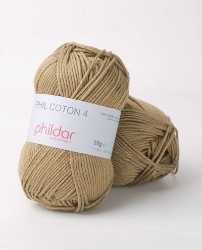 Phildar Phil Coton 4 Army - groen
