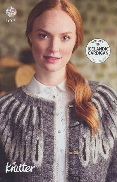 Leaflet Lopi Iceland Cardigan - The knitter