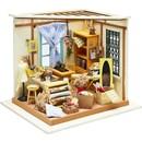 Bouwpakket 3D miniatuur kamer - naaiatelier 57891