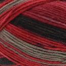 Lammy Yarns Multicolor No. 1 709 rood zwart (op=op)