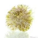 Pompon 25 mm glitter goud (25 stuks)