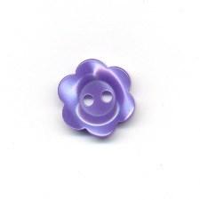 knoop 12 mm bloem - paars