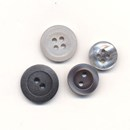 knoop 12 mm grijs