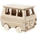 Minibus 17 a 10 a 13 cm grenen