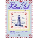 Borduurpakket Holland style - HWP009 vuurtoren