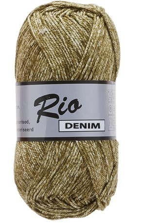 Lammy Yarns Rio denim 652 kaki