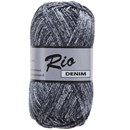 Lammy Yarns Rio denim 661 zwart