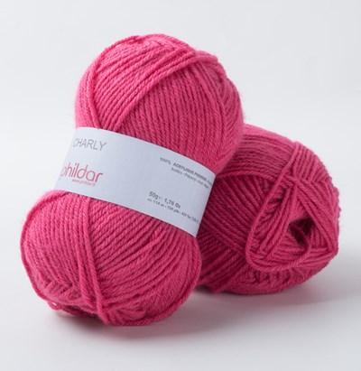 Phildar Charly Fuchsia 2149 - roze fuchsia