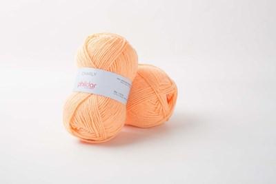 Phildar Charly Saumon 2396 - oranje zalm
